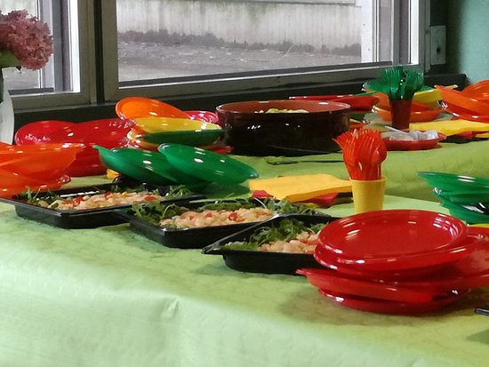 Sesto Ulteriano, Olaszország: Aperi Cena Insalata di gamberi