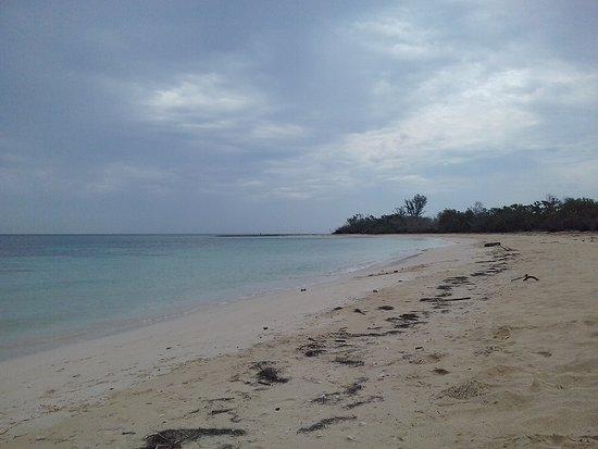 Santa Cruz del Norte, Cuba: Sección de playa del Campismo: La Laguna