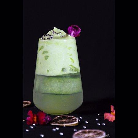 Vathy, Greece: Green goblin cocktail