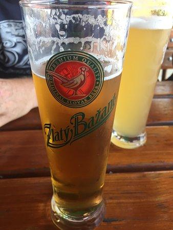 Bratislava Region, Slovakia: Local beer.