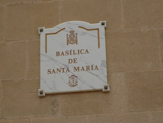 Basilica Santa Maria: Basilica - Alicante