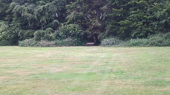 Eastham Country Park: Open space near car park