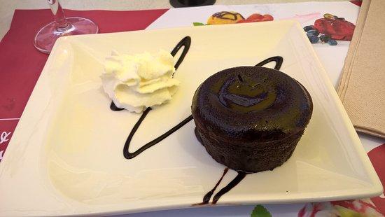 Lormes, Frankreich: Coulant chocolat succulent