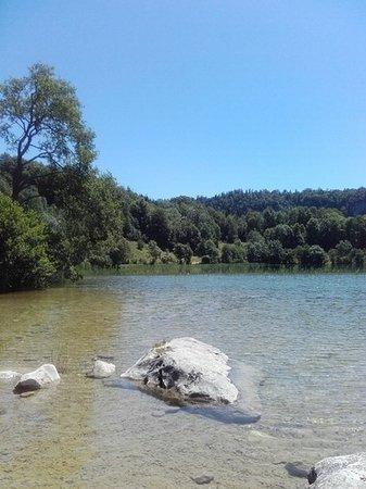 Le Frasnois, Frankrike: Lac d' Ilay