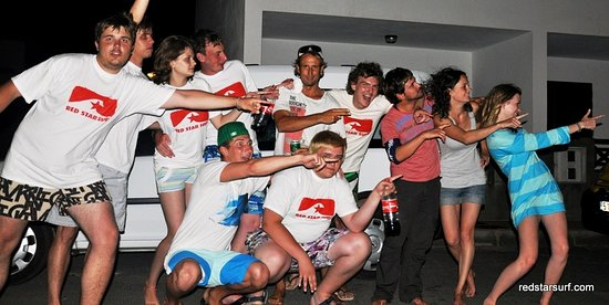 Famara, Spain: surf camp lanzarote great fun with red star surf