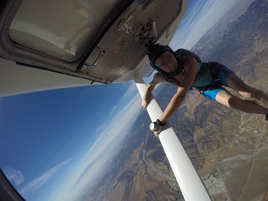 Banning, CA: Getting ready to start filming your skydive!