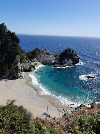McWay Falls lookout