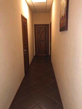 KievInn Apartment Complex: hallway
