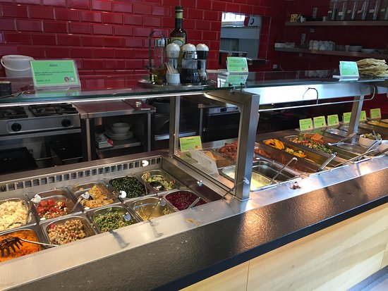 Bea's Vegetarian Dhaba: try a little or a lot of what you would like