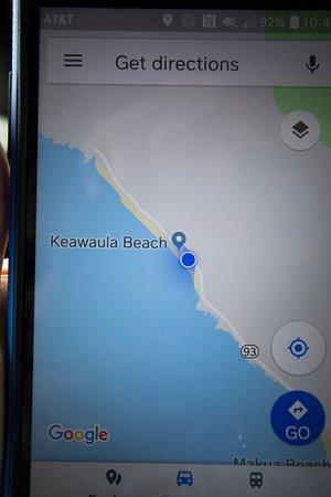 Makaha, Hawaje: map