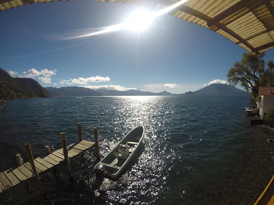 vista desde el muelle del hotel Isla Verde / View from main Isla Verde´s main dock