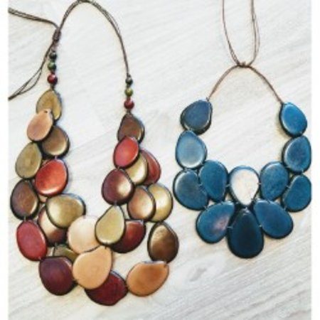 Verona, WI: Large chuncky handmade necklace