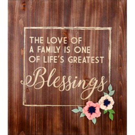 JNJ Craftworks: Blessings wall art