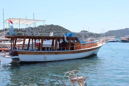 Kaleucagız, Turkiet: Морская прогулка возле Kaleüçağız, Demre