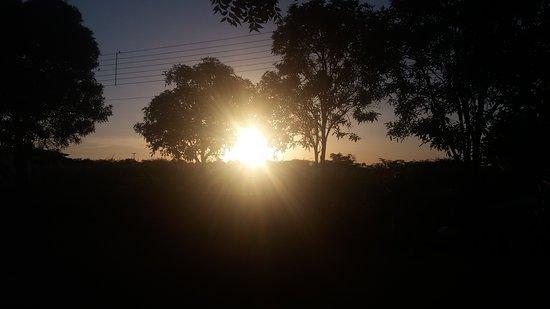 Limoeiro Do Norte, CE: Pôr do Sol na Fazenda BANESA