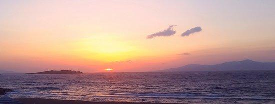 Sunset at Mykonos Bay Hotel