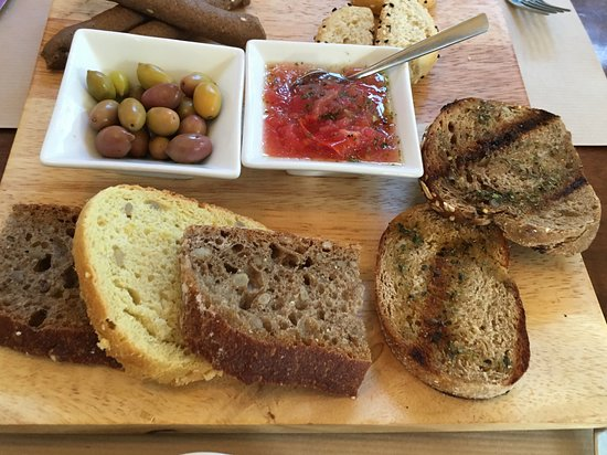 Merastri: Complementary assorted bread plate