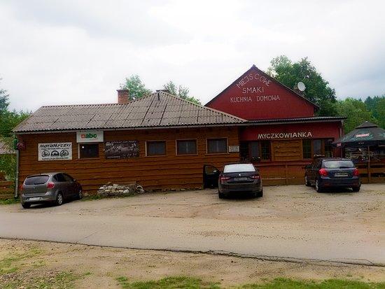 Myczkowce, Polônia: zza ulicy