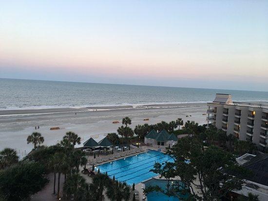 Marriott's Grande Ocean: View from the room