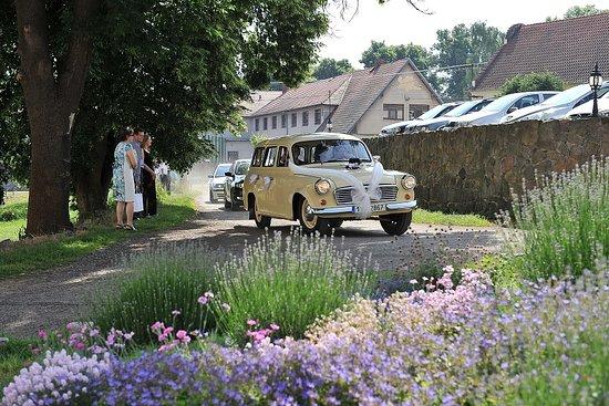 Benesov, Czech Republic: Příjezd na parkoviště
