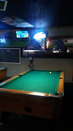 The Tug Tavern: A Few Pool Tables.