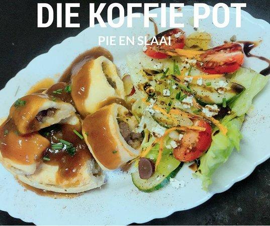 Louis Trichardt, Sudáfrica: Homemade pie en slaai