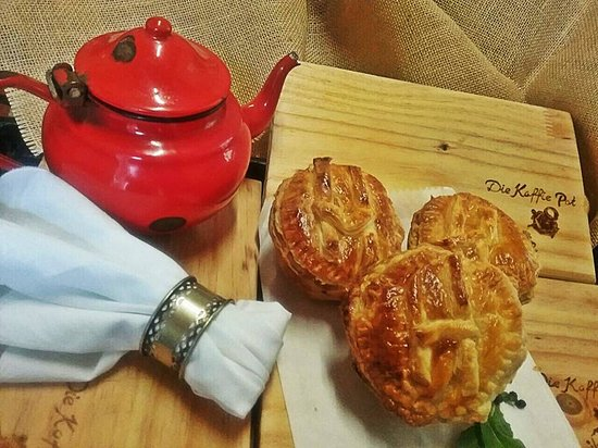 Louis Trichardt, South Africa: Homemade pies