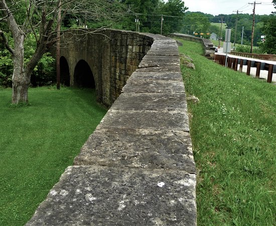 S Curve Bridge at Claysville, PA
