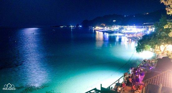 Ποσείδι, Ελλάδα: Nightime Panorama