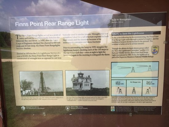 Finns Point Rear Range Light