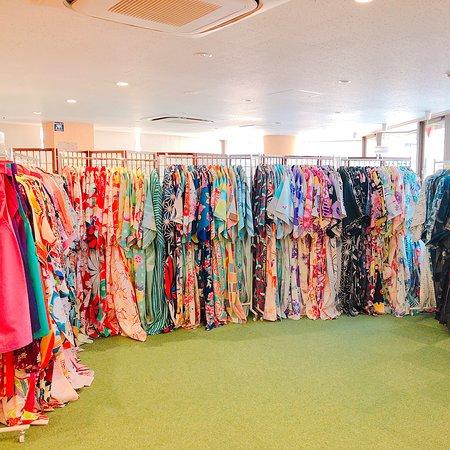 Kimono Rental Kyoto Aiwafuku Uji Byodoin: 着物・浴衣は200着以上も常備!