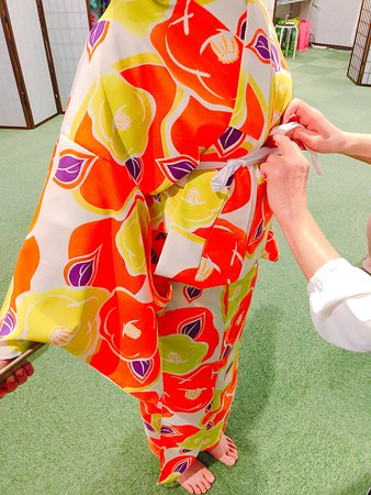 Kimono Rental Kyoto Aiwafuku Uji Byodoin: 着付けの技術にも自信があります