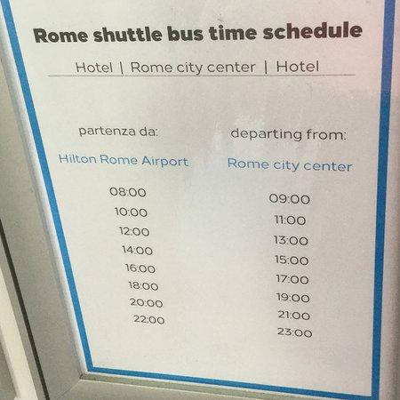 Hilton Rome Airport Hotel Foto