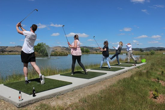 Time Out Adventures: Test your skills at Splash Golf, can you land a hole in one?