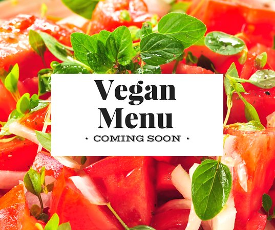Rowville, أستراليا: Vegan Menu