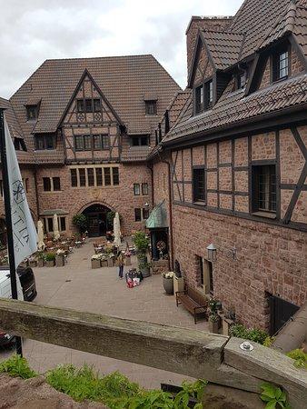 Romantik Hotel auf der Wartburg: Innenhof