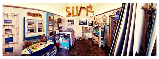 Inside Surflevanto shop