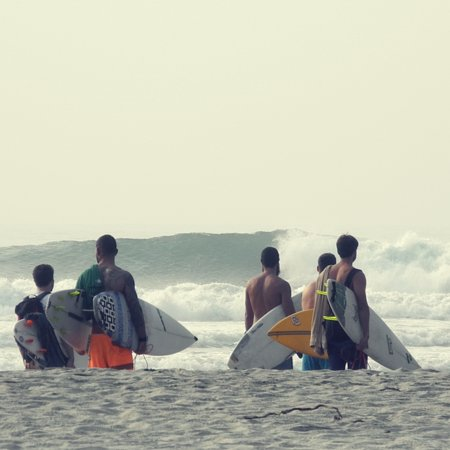 Surf en Barra de la Cruz
