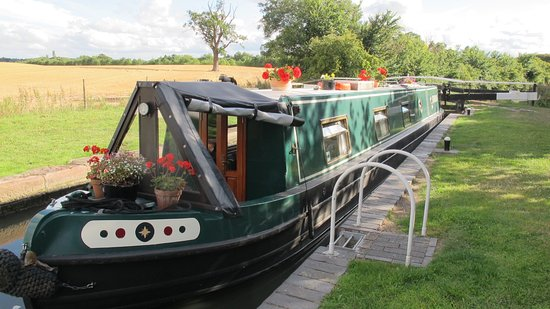 Droitwich, UK: The Silver Jewellery Boat - it's  floating workshop!