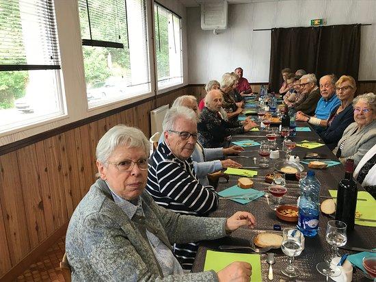 Pontrieux, Франция: Déjeuné de passage