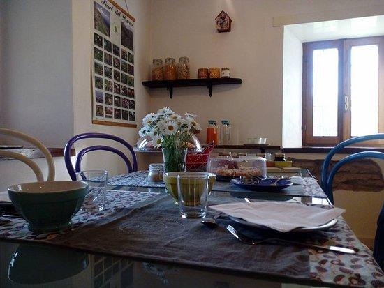 Sant'Anna Pelago, Italy: Sala colazione