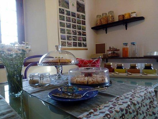 Sant'Anna Pelago, Италия: Sala colazione