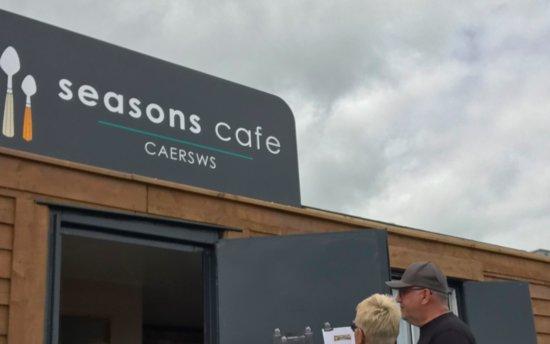 Caersws, UK: Small hut