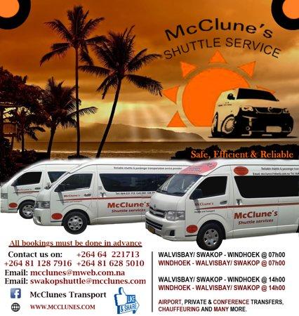 McClunes Shuttle Service