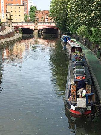ليستر, UK: Houseboats on the River Soar