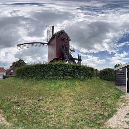 Retranchement, The Netherlands: Een open standerdmolen