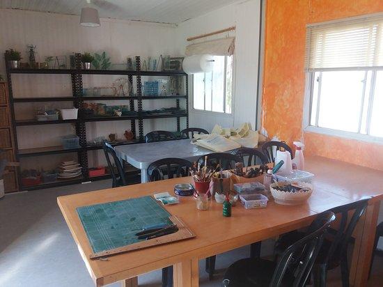 Mevo Horon, Palästinensische Autonomiegebiete: My studio