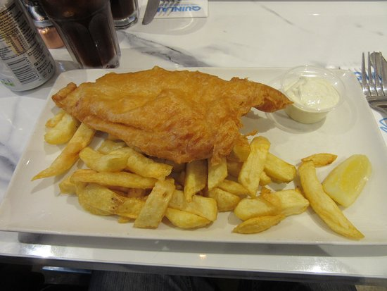 Quinlans Seafood Bar: Fish & Chips