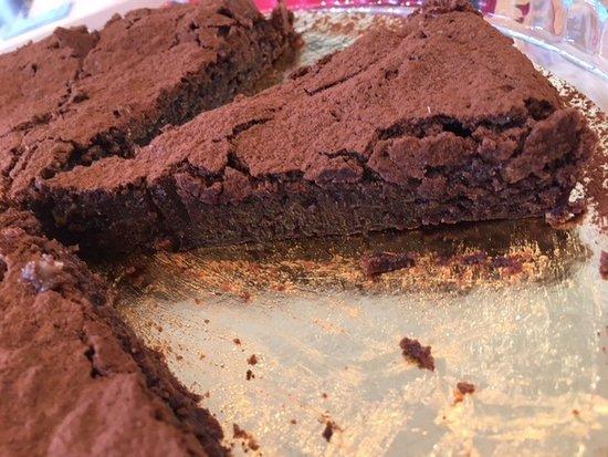 Kfar Blum, Israel: Chocolate cake my favourite..Yummm This was so fresh