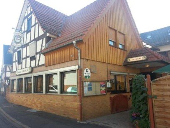 Ortenberg, Deutschland: Zur Traube von aussen